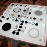 Шикарная стеклянная настольная игра для взрослых