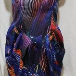 Яркое новое разноцветное платье с корсетом. Бренд F&F 48р