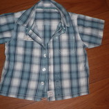 рубашка на лето на рост 80-86