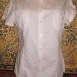 Ог 105 см Хлопковая рубашка наш 48/50 фирменная, качественная L. O. G. G. H&M