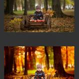 Супер яркая и сочная обработка фото. Необычные, сказочные цвета