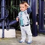 Костюм Тройка для мальчика реглан кофта бомбер штаны брюки