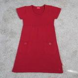 Платье вязаное для девочки на рост 128-134 см