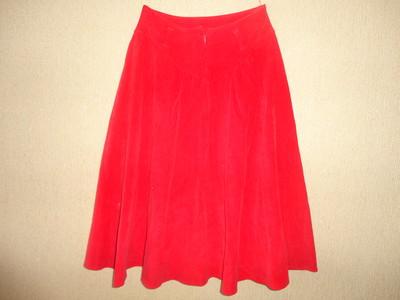 Вельветовая юбка для девочки