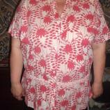 Хлопковая блузка Rogers rogers 20/22-48/50, наш 54/56