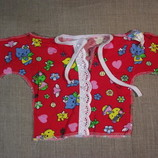новые рубашечки для новорожденных, льолі для немовлят