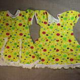платье на 1-2 года новое как на фото хлопок