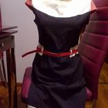 Платье футляр классика новое,р.XS-S