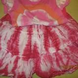 Летний комплект юбка-футболка на 12-15 лет