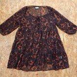 блуза, р-р L-XL, батал, большой размер, блузка майка туника футболка кофта платье сарафан