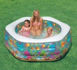 Надувной бассейн Intex 56493 с надувным дном