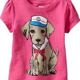Яркая футболка OLD NAVY на девочку 12-18 мес.