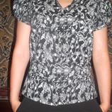 Хлопковая рубашка 12/40, наш 46 DIVIDED H&M