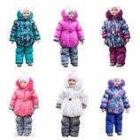 Зимняя куртка и полукомбинезон для принцесс на 1-5лет