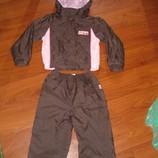 Спортивный ветровочный костюм Адамс на девочку рост 92