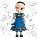 Кукла Эльза аниматор коллекция.