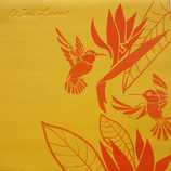 Wai Lana Hawaiian Paradise Gold йога мат коврик для йоги пилатеса фитнеса