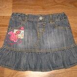 Джинсовая юбка Marks&Spencer на 3-4 года