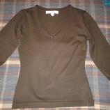 Свитерок пуловер с V-образным вырезом, размер S-42-44