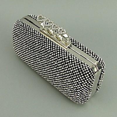 b9f9ffd5551a Клатч из камней женский выпускной черный Rose Heart 0921: 685 грн ...