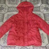 Потрясающая коралловая и в бежевом цвете осенне-зимние куртки - пальто Некст