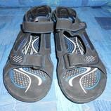 новые замшевые сандалии 100% кожа