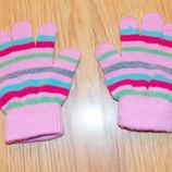 Красивые перчатки для девочки 2-4 года