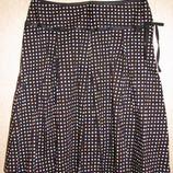 Красивая летняя юбка в горошек TOP SHOP