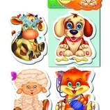 Мягкие обучающие пазлы Vladi Toys от 2 лет