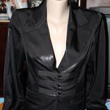 пиджак атласный- состояние нового 44-46