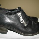 Нові шкіряні брендові туфлі Clarks Soft wear Оригінал Німеччина р.4 стелька 23 см