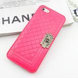 Чехол Chanel Boy для Iphone 5 и 5s Шанель Бой розовый