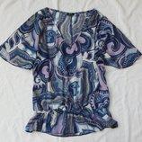 футболка майка кофта разлетайка, размер S-M блуза блузка