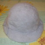 Шляпа шапка зимняя, ангоровая