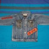 Джинсовая куртка, ветровка 92-98р.