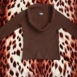 Теплый свитер кофта из шерсти и ангоры - 44 р.