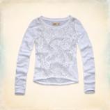 акция Hollister блуза с длинным рукавом из Америки оригинал