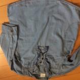 Туника джинсовая или удлиненная рубашка