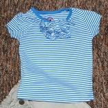 Модная футболочка на 9-12 месяцев Early Days