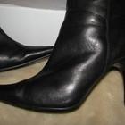 Сапожки чоботи стильні шкіряні демі VQ Оригінал Англія р.40