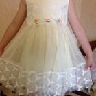 Платье нарядное Теплое Солнышко 120, 130