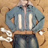 Куртка - рубашка 42-46 Новая BRF . Джинсовая рубашка. Джинсовая куртка