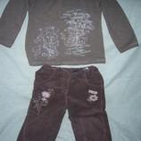 Костюм футболка, брюки для девочки фирмы BLUEKEY, р. 74-80