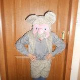 Новогодний карнавальный костюм Мышка на возраст 3-7 лет