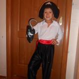 Костюм новогодний карнавальный Пират на возраст 3-10лет