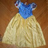 Платье Белоснежка девочке 9-12 лет и 3-4 года Прокат