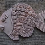 Глиняные подвески-рыбки