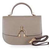 Брендовая женская сумка Hermes Эрме классическая с откидным клапаном