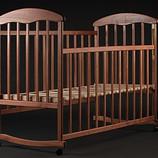 Детская кроватка Качалка на роликахновые