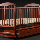 Кровать Детская кроватка с ящиком темные 1100 грн